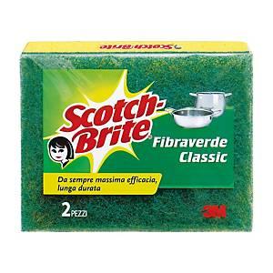 Spugna abrasiva classic Scotch-Brite™ - conf. 2