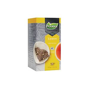 Pickwick Tea Master Selection citroen thee, pak van 25 theezakjes