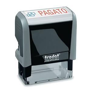 Timbro autoinchiostrante Trodat Office Printy 4.0  PAGATO