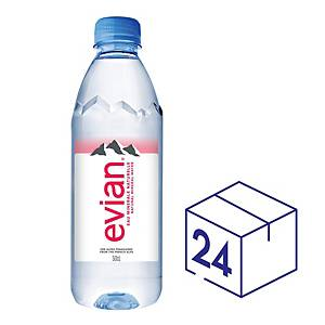 Evian Mineral Water 500ml - Pack of 24