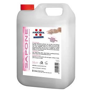 Sapone mani liquido igienizzante Amuchina Professional 5 L