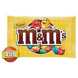 M&M s met pindanoten, pak van 24 zakjes M&M s