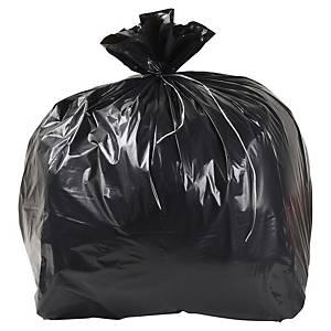 Sac poubelle pour déchets lourds - 100 L - 40 microns - gris - 200 sacs