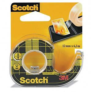 Scotch 136 kaksipuolinen teippi katkojalla 12mm x 6m