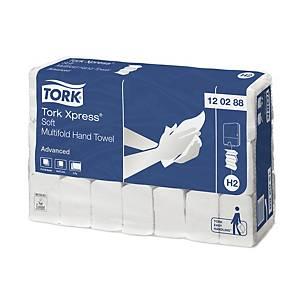 Tork Interfold Advanced 120288 hajtogatott papírtörlő, fehér