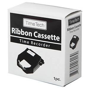TIMETECH KL RIBBON BLACK/RED