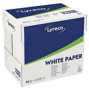 Papier A4 blanc Lyreco Standard, 75 g, la boîte de 2.500 feuilles