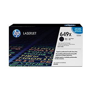 HP 649X High Yield Black Original Laserjet Toner Cartridge (CE260X)