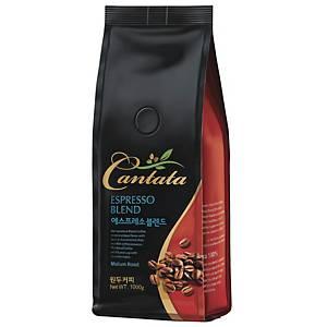 CANTATA ESPRESSO BLEND COFFEE BEAN 1KG