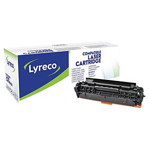 LYRECO komp. toner HP 304A (CC530A)/CANON CRG-718 (2662B002) fekete