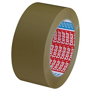 Tesa® Ultra Strong PVC tape, bruin, 50 mm x 66 m, per rol tape