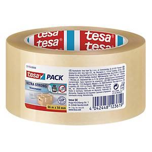 Tesa 4124 PVC Pack Tape 50 X 66 Transparent