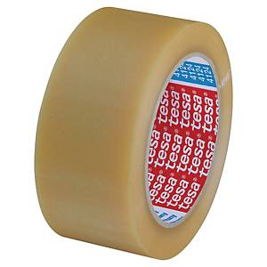 Tesa 4124 packaging tape 50mmx66m PVC clear