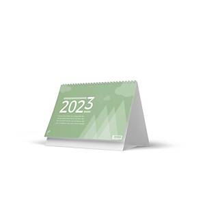 Green Collection bureaukalender, viertalig, 20 x 15 cm