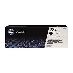 HP CE278A LaserJet Toner Cartridge (78A) - Black