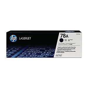 HP CE278A LaserJet Toner Cartridge (78A) - Black