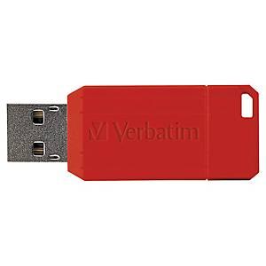 Verbatim Pinstripe USB stick 10-4MB/sec - 16GB back