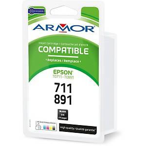 Cartouche d encre Armor compatible équivalent Epson T0891/T0711 - noire