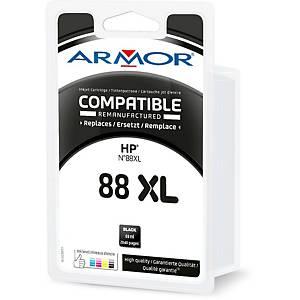 Cartouche d encre Armor compatible équivalent HP 88XL - C9396AE - noire