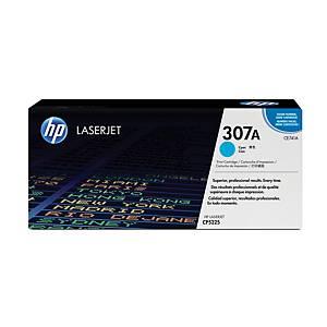 HP laserový toner 307A (CE741A), cyan