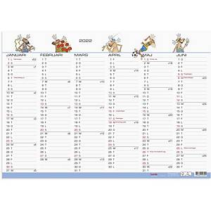Kalender Burde 91 5070 Väggblad Humor 420 x 297mm