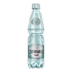 Woda mineralna CISOWIANKA niegazowana, zgrzewka 12 butelek x 0,5 l