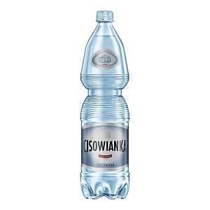 Woda mineralna CISOWIANKA gazowana, zgrzewka 6 butelek x 1,5 l
