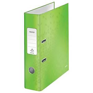 Pákový zakladač Leitz WOW 180°, A4, šírka chrbta 8 cm, zelený