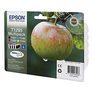Epson T1295 40 Multipack Apple - Black, Cyan, Magenta, Yellow