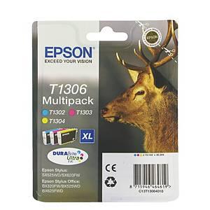 Epson atramentová kazeta T1306 (C13T13064012), 3-farebná C/M/Ž