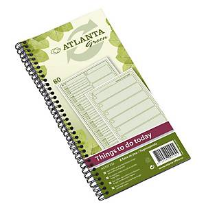 Carnet de notes Jalema Atlanta Things To Do, néerlandais « Green Edition »