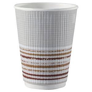 Pack de 25 vasos Duni Ecoecho - cartón y PLA - triple pared - 240ml