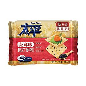 Pacific Sesame Soda Cracker 100g