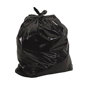 黑色垃圾袋 24 X 24吋 100個裝