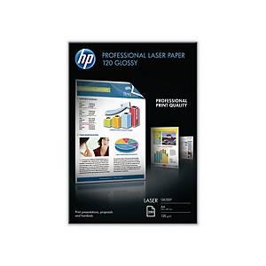 Fotopapier HP CG964A, beidseitig beschichtet, A4 hochglanz, 120g/m2, 250 Blatt