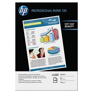 HP CG964A papier photo brillant pr imprimante laser A4 120g - paq. de 250 flls