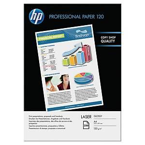 Pacote de 250 folhas de papel fotográfico laser HP CG964A - A4 - 120 g/m²
