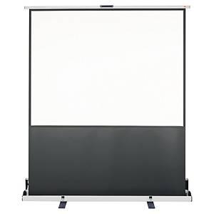 Transportabelt lerret Nobo, 162 x 122 cm, frittstående, mobilt, 4:3