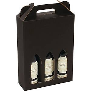 WINE BOX F/3BOTTLES NATURE
