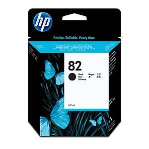 HP 82 69-ML Black Designjet Ink Cartridge (CH565A)