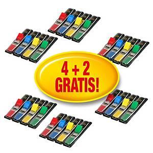 Segnapagina Post-it® Index mini kit 4 dispenser da 35pz cad +2 dispenser gratis