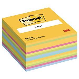 3M Post-it® 2030 Öntapadó jegyzetkocka 76x76mm, színes, 450 lap