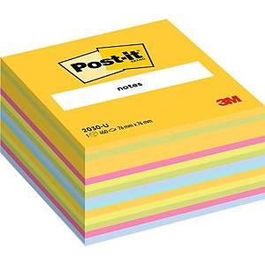 Cubo de 450 notas adhesivas Post-it - varios colores - 76x76mm