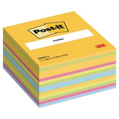POST-IT Haftnotizblock Würfel 76x76mm gelb