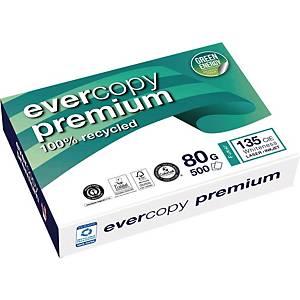 Kopierpapier Evercopy Premium 1902, A4, 80g, 145er-Weiße, 500 Blatt