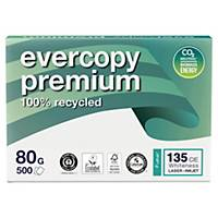 Evercopy Premium  Recycled Paper A4 80gsm White - Box of 5 Reams (5X500 Sheets)