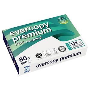 Papier recyclé blanc A4 Clairefontaine Evercopy Premium - 80 g - 500 feuilles