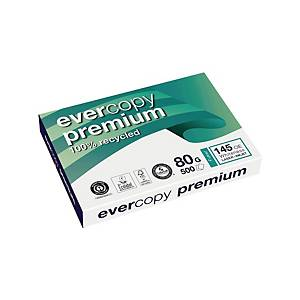 Kopierpapier Evercopy Premium 1904, A3, 80g, 145er-Weiße, 500 Blatt