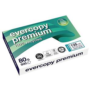 Evercopy Premium Recycled Paper A3 80 gsm - 1 Ream of 500 Sheets