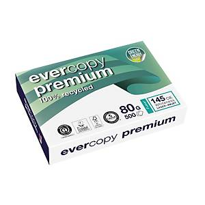 Resma de 500 folhas de papel reciclado Evercopy Premium - A3 - 80 g/m²